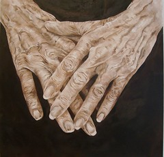 HANDS (donatellaribezzo) Tags: africa old venice portrait italy woman usa india milan art girl face niger america work painting tanzania star hotel italian hands paint rooms hand grandmother milano room burma indian tiger sudan monk mani quadro monaco monks oil mano works hotels ethiopia serengeti masai egitto pilgrim tuareg himba pilgrims quadri albergo donatella maschere alberghi mendicante savana dipinti yourmasterpaintings ribezzo afpov