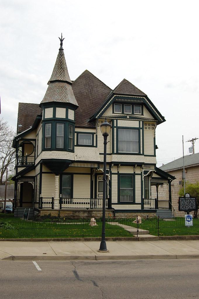 Samuel Spitler House, Brookville, Ohio