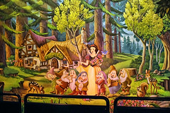 Disney - Snow White And Seven Dwarfs Mural