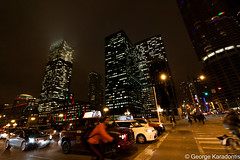 Chicago (George Karadontis) Tags: chicago chicagobynight canon canoneos50d night city lights thewindycity