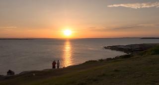 Bare Island Sunset