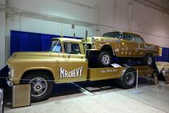 1955 chevrolet/4400 truck (bballchico) Tags: 1955 chevrolet dragcar mrchevy larryfrees chevrolet4400truck grandnationalroadstershow gnrs2017 carshow trifive