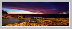 Mahon Pool sunrise (jongsoolee5610) Tags: sunrise soe sydney maroubra mahonpool australia sydneysunrise seascape sea redsky cloud greatphotographers