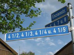 Hausnummer Bad Tlz Oberland Bayern Bavaria Germany Deutschland (hn.) Tags: copyright signs schilder