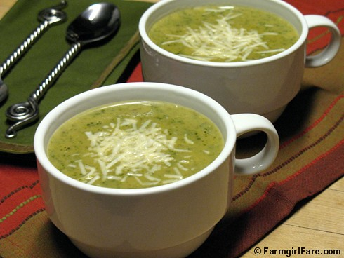 roasted leek and potato soup with arugula or spinach soups