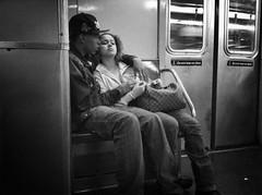 """Bad Boys Have Their Big Hearts Too"" (Sion Fullana) Tags: nyc people urban blackandwhite bw newyork love blancoynegro subway couple young citylife streetshots streetphotography characters melancholy badboy allrightsreserved decisivemoment newyorkers newyorklife iphone newyorksubway bigheart urbanshots urbannewyork decisivemoments girlinlove younginlove iphone4 iphonephotography iphoneshots iphoneography iphoneographer sionfullana editedanduploadedoniphone throughthelensofaniphone"