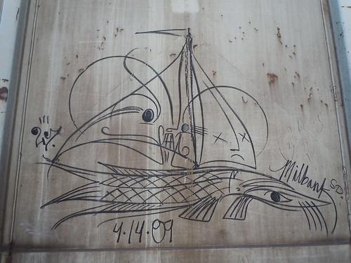 06-11-11 Rail Car Graffiti @ Renville, MN12
