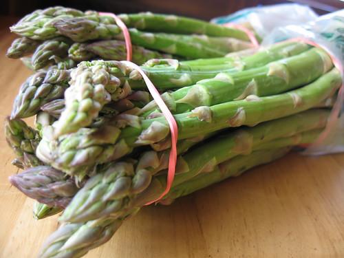 asparagus (obvious?)
