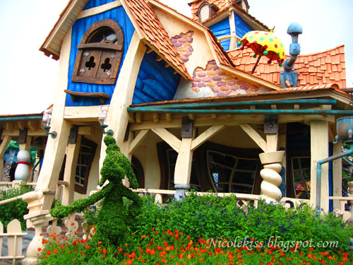 goofy house