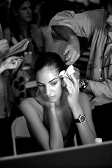 (gillianleigh) Tags: bw newyork hair interestingness explore backstage fashionweek dianevonfurstenberg emina fredericfekkai spring2007 thebestphotosintheworld