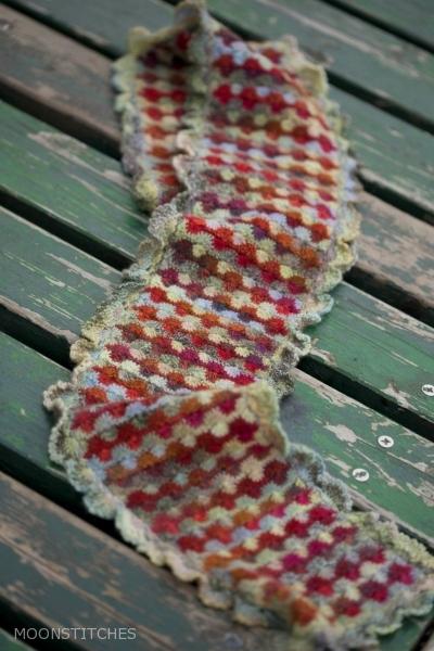 Rhubarb Scarf