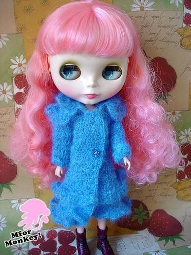 MforM Blue Sweater