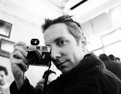 Jim and his Leica III (Joi) Tags: modelrelease freesouls freesoulsbook fotonauts:gid=flickrz2dz2056102459 freesoulscapturedandreleased magnumonflickr places:locality=aod14iayaj1rder