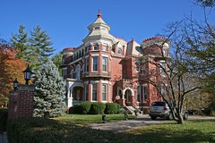 The Castle (Black.Doll) Tags: illinois queenanne carmi thecastle 1896 richardsonianromanesque nationalregisterofhistoricplaces whitecounty eastlakevictorian fantasyarchitecture jamesrobertwilliamshouse georgefbarber