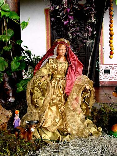 Guatemala Christmas Scene