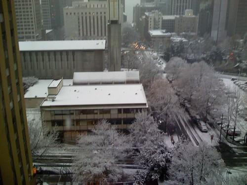 Seattle snow!