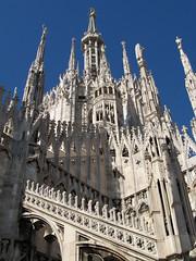 At the Top of Milan (jefg99) Tags: travel italy milan church photo cathedral spires churches photograph 5photosaday