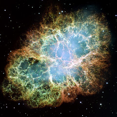 Hubble's most detailed image of the Crab Nebula (One Cool Cat) Tags: m1 nebula crabnebula hubble ngc1952 messier1