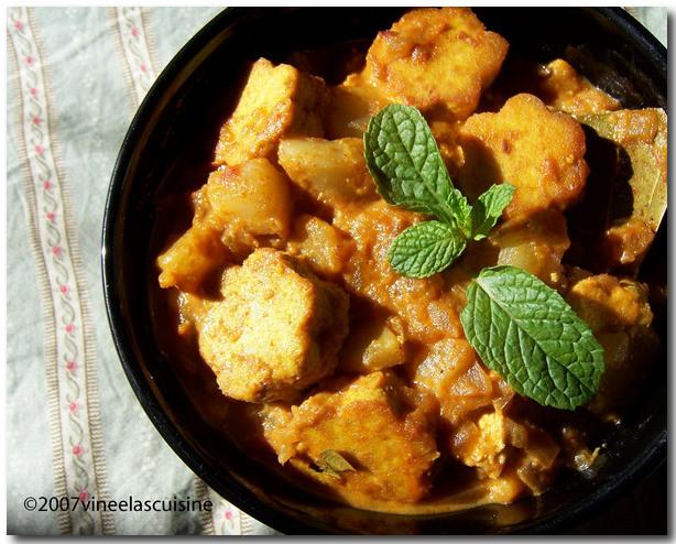 Turnip Tofu Gravy