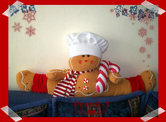 Galleta de genjibre  (PrenD-T) Tags: christmas natal navidad felt sala reno rodolfo adornos fieltro telapolar