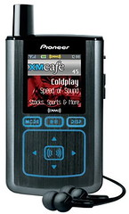 Pioneer Inno satellite radio receiver/mp3 player