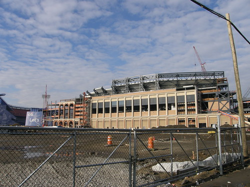 Citi Field - First Base Side (3) - January 2008