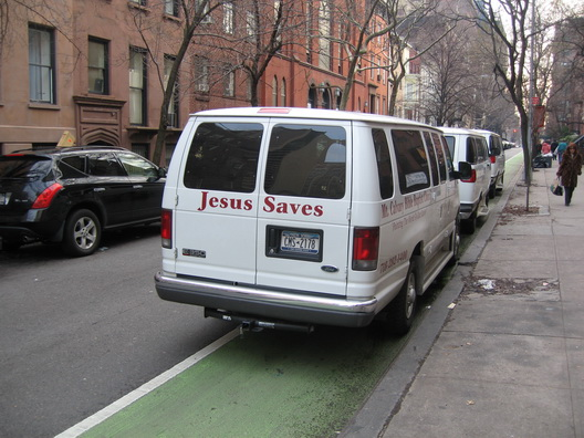 Jesus Saves on Henry Street