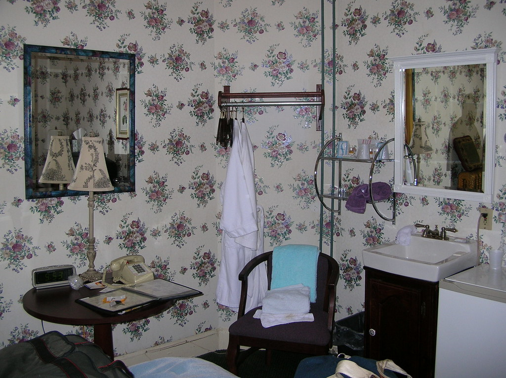 Inn at St. John - flower pattern room 1