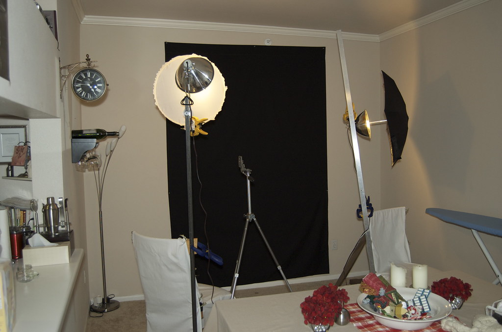 DIY Home Portrait Studio (j_tenkely) Tags pictures lighting portrait home umbrella studio photography & The Worldu0027s Best Photos of clamps and lighting - Flickr Hive Mind