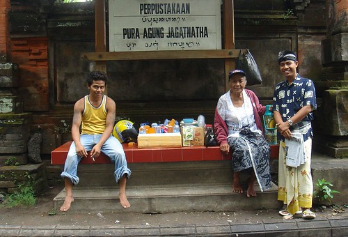Jagatnatha drinks. Denpasar, Bali, Indonesia