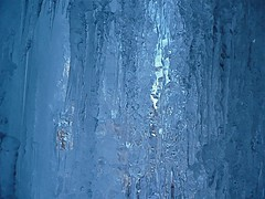ice curtain (Vin on the move) Tags: blue winter abstract france cold texture ice nature water trek g