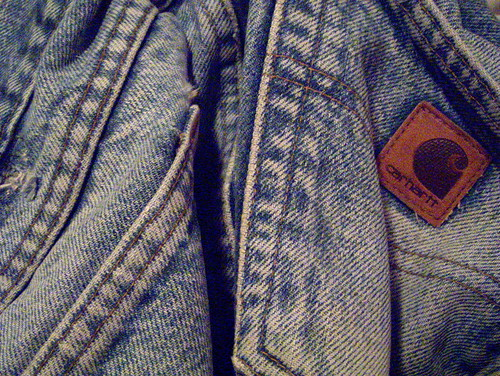 old blue newmexico home albuquerque jeans worn denim torn bluejeans carhartt comfy workpants workjeans