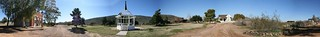 Panorama of Pioneer Living History Village