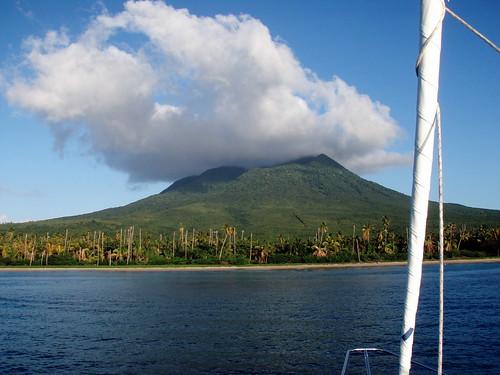 Nevis - the Volcano