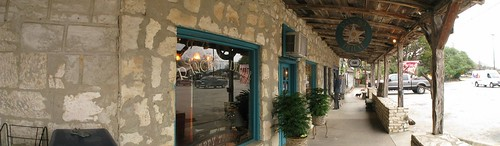 Nice old town in Wimberly, Texas, USA