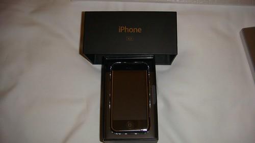 L'iphone appena comprato :)