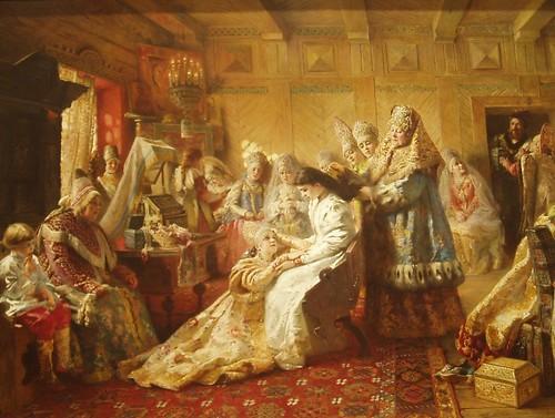 Russian Peasant Bride Russia People 29