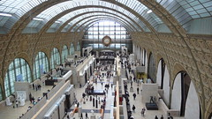 main hall at musée d'orsay