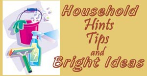 Blog Household Tip