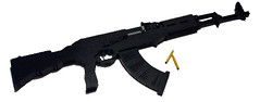 Ak-47 (Battledog) Tags: life gun lego 11 ak47 sized