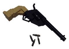 Western Revolver (Battledog) Tags: life lego 11 weapon revolver handgun sized