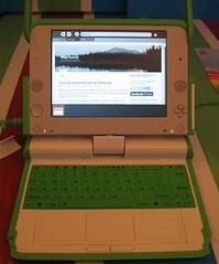 Marlund en una OLPC