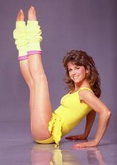 Jane Fonda in Spandex