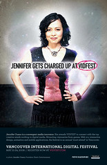 Jennifer Gets Charged Up At VIDFEST