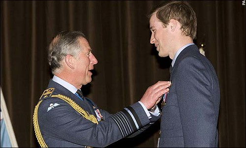 Znalezione obrazy dla zapytania prince william raf 2008