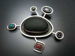 Orbit Brooch