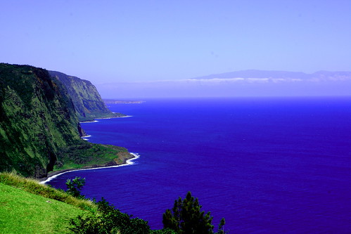 Lugar natural en las islas de Hawai