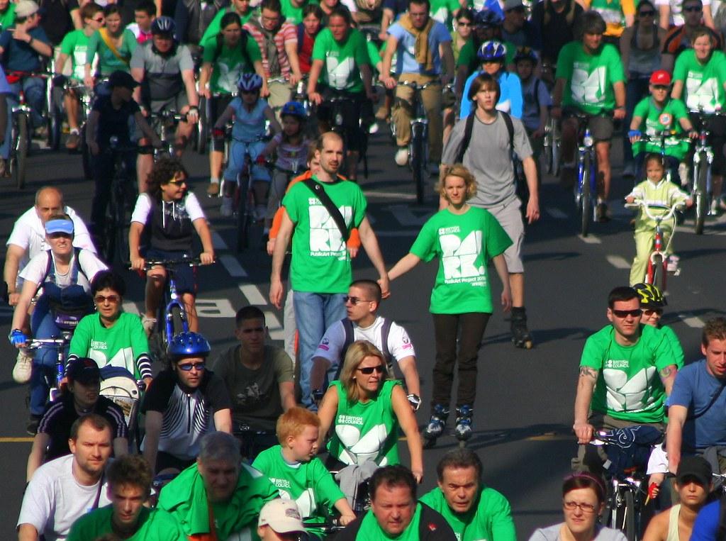 Critical Mass 2008 - Budapest