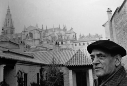 Buñuel en Toledo (Foto Carlos Saura)