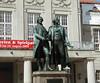 Weimar - Goethe-Schiller Monument